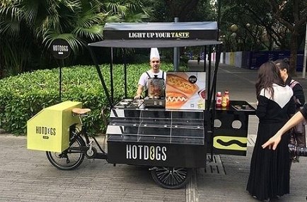 How To Make A Food Vending Bicycle Trailer