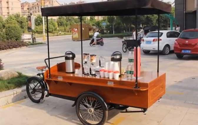 Coffee Bike Customer Show