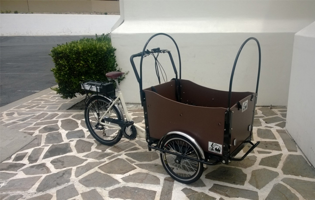Electric cargo bike A