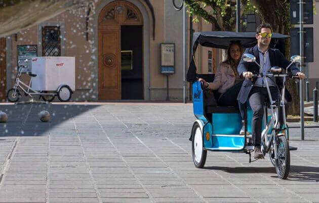 damping pedicab rickshaw 1