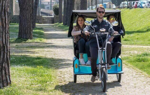 damping pedicab rickshaw 2