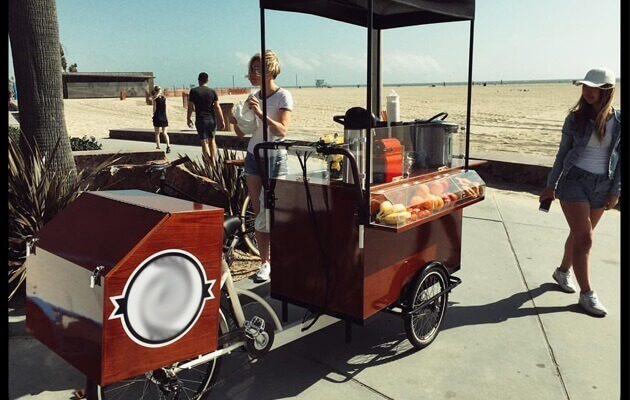 fashion coffee bike 1
