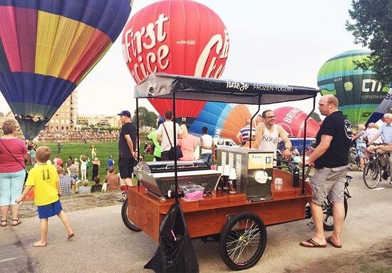 Retro Coffee Bike
