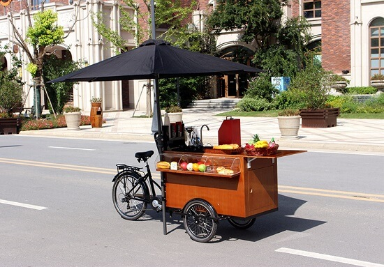 Fashion Coffee Bike