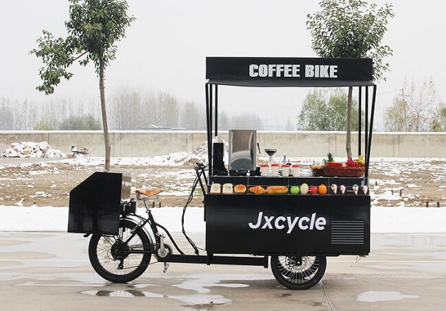 Modern Coffee Bike