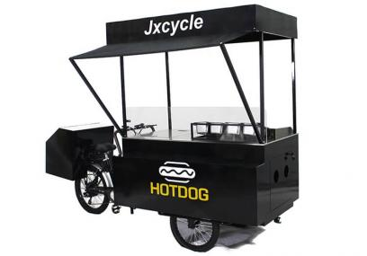 Hot dog bikes have these features